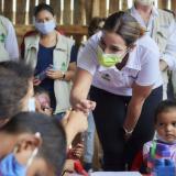 Tierralta: Icbf verifica plan de nutrición para menores vulnerables