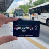 Transmetro lanza tarjeta alusiva a los Juegos Panamericanos 2027