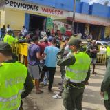 250 policías se tomaron a Maicao para devolver la tranquilidad