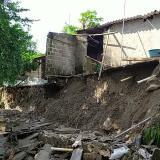 Inundaciones y viviendas destruidas en Luruaco, a causa de las fuertes lluvias