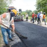 Rehabilitación de la vía Las Majaguas-La Arena avanza a buen ritmo