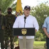 Duque hace reconocimiento a militares que participaron en operación 'Osiris'