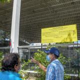 Comunidad del barrio Boston se opone a la nueva subestación