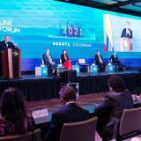 Colombia llega a 46 millones de dosis de vacunas aplicadas: presidente Duque