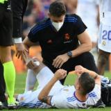 Valverde sufre un esguince de rodilla; Courtois no tiene lesión