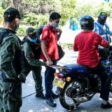 Parrillero en moto: Mototaxistas protestan por prohibición