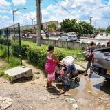 Peatones destruyen mallas en la Circunvalar