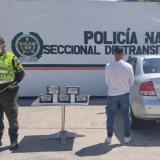 Capturan a hombre que transportaba más de 5 kilos de cocaína en su carro