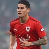 James Rodríguez convirtió su primer gol con el Al-Rayyan de Catar
