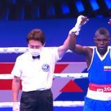 Yuberjen Martínez en el Mudial de Boxeo