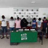 Caen 'los Costeros', señalados de vender droga en Baranoa