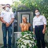 Se conmemoraron 172 años de natalicio de Luis Antonio 'El Negro' Robles