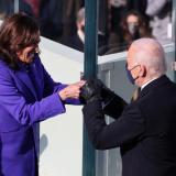 Posesión de Joe Biden y Kamala Harris