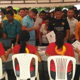 En imágenes: multitudinaria asistencia a convocatoria de Feria de Empleo