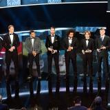 En imágenes: Así transcurrió la gala de los premios de la Fifa