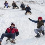 En imágenes: Así se vive el invierno en Europa