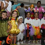 En imágenes | Los niños salieron a celebrar 'Halloween' en Barranquilla