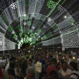Alumbrado navideño ya 'ilumina' Barranquilla