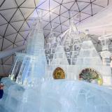 Las impresionantes esculturas de hielo que se exponen en Eslovaquia