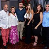 Compromiso  matrimonial entre Andrés Villafáñez Jabba y Andrea Sarué Montalvo