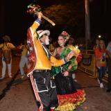 Así se gozó el desfile del Garabato de Emiliano