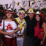 Tarde de Carnaval en el restaurante Paloma