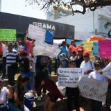 Habitantes de Ciudad Caribe salen a protestar por condiciones de la obra