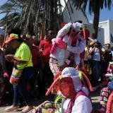 El sepelio de César 'Paragüita' Morales, al compás de las marimondas