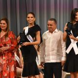 La entrega de las llaves de la ciudad a las candidatas a Señorita Colombia