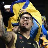 En imágenes | El grito argentino que se escucha en el Bernabéu