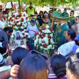 Llanto, flores, canciones y oraciones para Diomedes Díaz