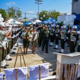 Así se desarrollan los actos de homenaje a las víctimas del atentado en San José