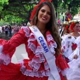 Desfile de Piloneras en Valledupar