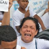 Las dolorosas imágenes que deja el último adiós a María José Ortega