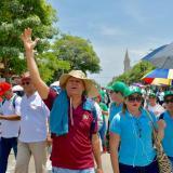 Así se llevó a cabo la marcha de Fecode en Barranquilla