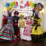 Andrea Henríquez y Robinson Albor, reyes del Carnaval del bordillo 2020
