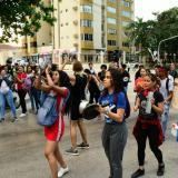 Estudiantes realizan cacerolazo en Barranquilla