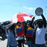 Estudiantes marcharon en Barranquilla en honor a Dilan Cruz