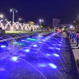 Así fue la inauguración de la Gran Plaza de la Paz
