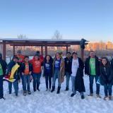 La corte real carnavalera que se tomó Mongolia