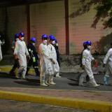Las imágenes que dejó el grave incendio en bodega de la Vía 40