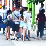 Aglomeraciones y falta de medidas sanitarias durante puente festivo en playas