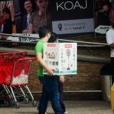Con medidas de bioseguridad, en Atlántico salen a comprar en el Día sin Iva