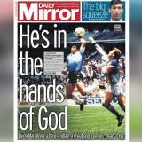 Así registran la muerte de Maradona los periódicos más importantes del mundo
