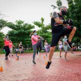 Manténgase activo con 'Fit Combat'
