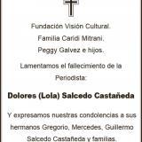 Dolores (Lola) Salcedo Castañeda