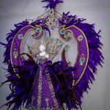 Así lucen los vestidos en miniatura de algunas reinas del Carnaval