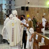Imágenes de la misa por el cumpleaños 208 de Barranquilla