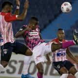 Las imágenes de Junior vs. Santa Fe por Copa Libertadores