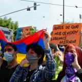 Así transcurren las marchas este jueves en Barranquilla
